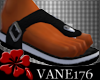 [V1] Leather Sandals BK