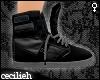 ! black dc shoes