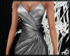 Silver Fishtail Gown