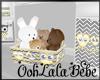 Baby Owl Toy Basket