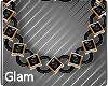 Golden Evening Necklace