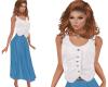 TF* Modest Vest & Skirt