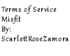 Terms of Service Misfit