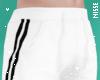 n| M' Joggers White