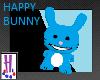 Happy Bunny Pet - Blue