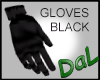 Black Gloves w Cuff