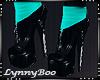 *Aqua Black Boots
