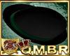 QMBR Hat Bowler Blk-Grn