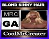 BLOND SINNY HAIR