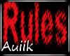 Ara Rules Poster