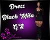 Dress Black Mila GA