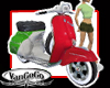 PET Italy motor Scooter