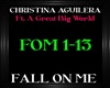 C.Aguilera~Fall On Me