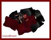 LPF Red/Black pillows