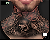 Ez| Neck Tattoo ~