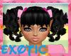 E X KOLITAS BLACK HAIR