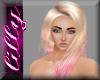 Pink Dip dye blonde