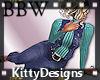 KD+ BBW jeans & shirt