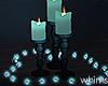 Rain Candles Lights