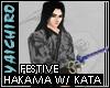 Festive Hakama w/ Swords