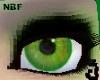 Acid green eyes