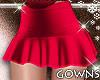 Sweet Vday Skirt Red