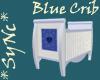 *Sync Pretty Blue Crib