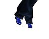 Male Clogs Blue Deco