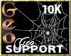 Geo Support Sticker 10k