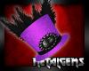 CEM Purple Victorian Hat