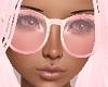 Round Pink Glasses