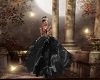 Black Princess Gown