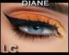 LC Diane Tangerine Eyes