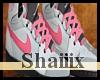 Grey & Pink Jordans (M)