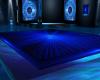 Mystic Blue Dance Floor