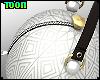 T! Ball Purse - White