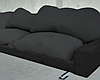 Black Pillow Couch