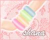*SH* rainbow bangles L