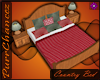 {P} Country Bed w/Poses