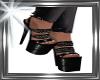 ! black chain heels,