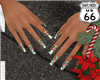 SD Peppermint Candy Nail