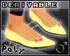 Flat Shoes w.bow m [drv]