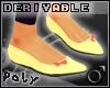 Flat Shoes w.bow m [drv]