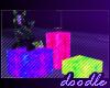 Neon Pose Boxes