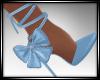 Blue Snowflake Shoes