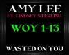 Amy Lee~WastedOnYou