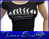 Evolution  T shirt