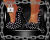 Black Spiked Heels