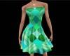 Summer Wear Green Dress