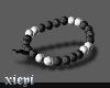 . bracelet b/w